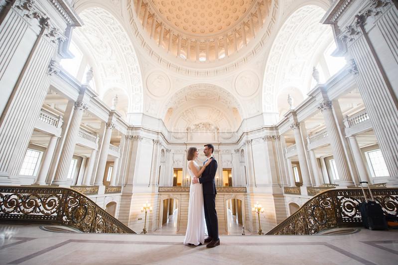 0051_Stephanie John SFCityHall Wedding