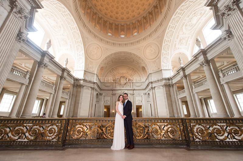 0119_Stephanie John SFCityHall Wedding