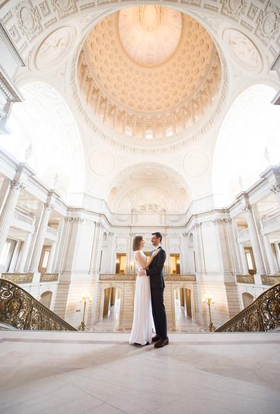 0052_Stephanie John SFCityHall Wedding