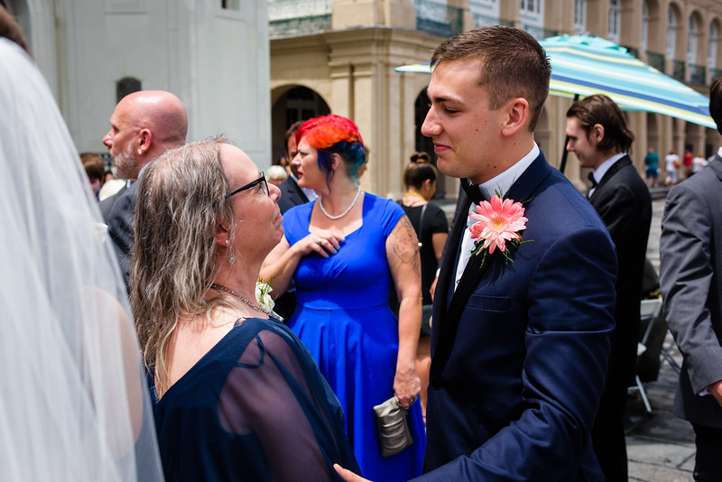 Spencer and Corrine's wedding in New Orleans on June 24, 2017. Photo by Ryan Hodgson-Rigsbee