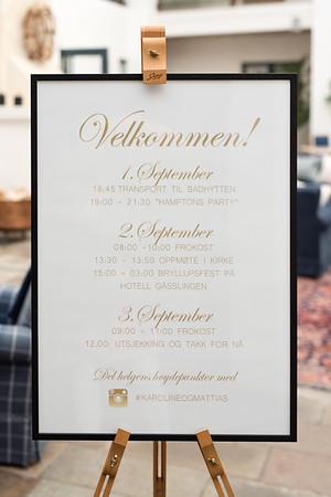 Karoline and Mattias - 2 Sept 2017 http://annalauridsen.com