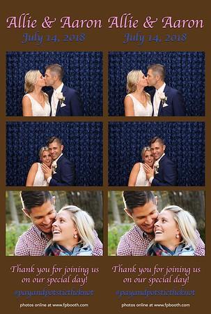 Aaron & Allison Wedding