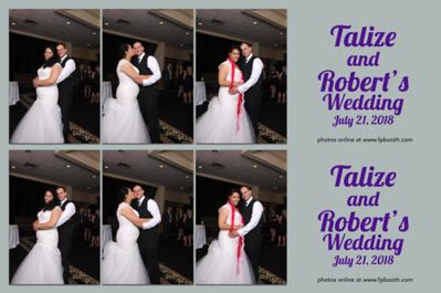 Robert & Talize Wedding