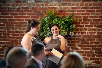 First Dance and Speeches