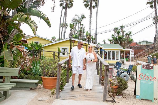 2018_7_28 Charlene & Tom At Crystal Cove