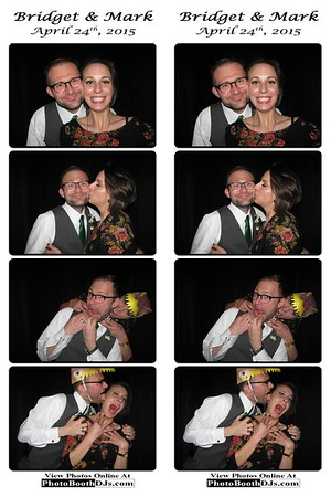 4/24/2015 Bridget & Mark's Wedding (Photostrips)
