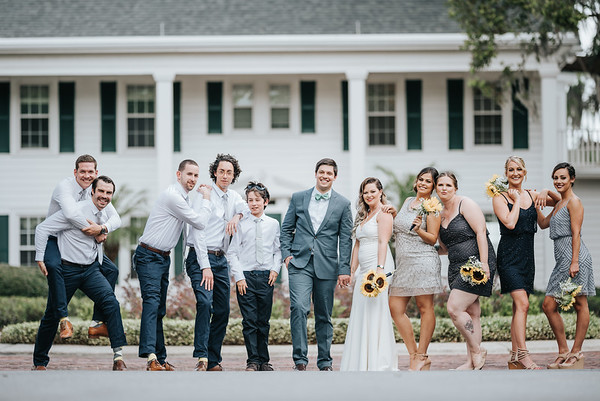 5. Bridal party portraits