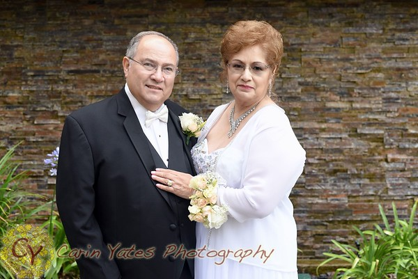 Castellanos 50th wedding vow renewal