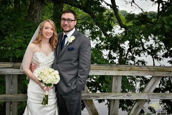 6-17-17  Michelle & Josh   Lake of Isles