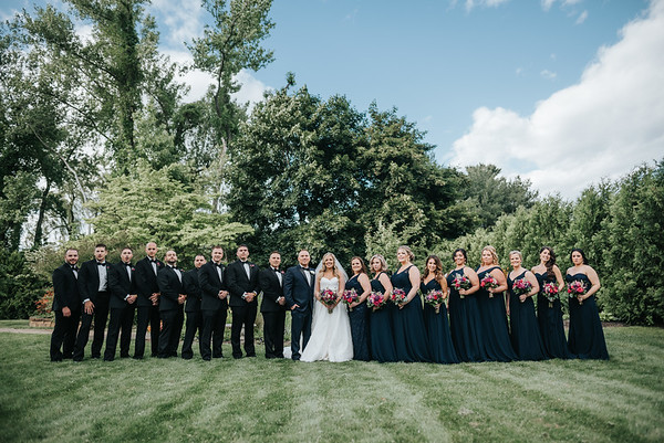 7. Bridal party portraits
