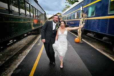 9-30-17 Kristina & Kevin | Essex Steam Train
