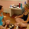 "Jessa & Lisa chat while Amy fixes Jessa's ""DO."""