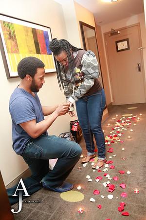 Aaron & Gaybriel proposal feb 6, 2015