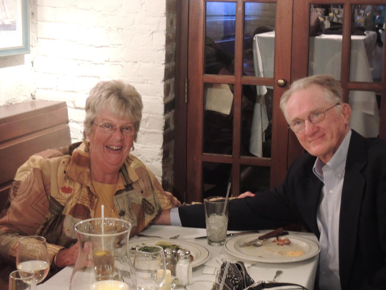 Mary Ann and Tom:  Rehearsal dinner.