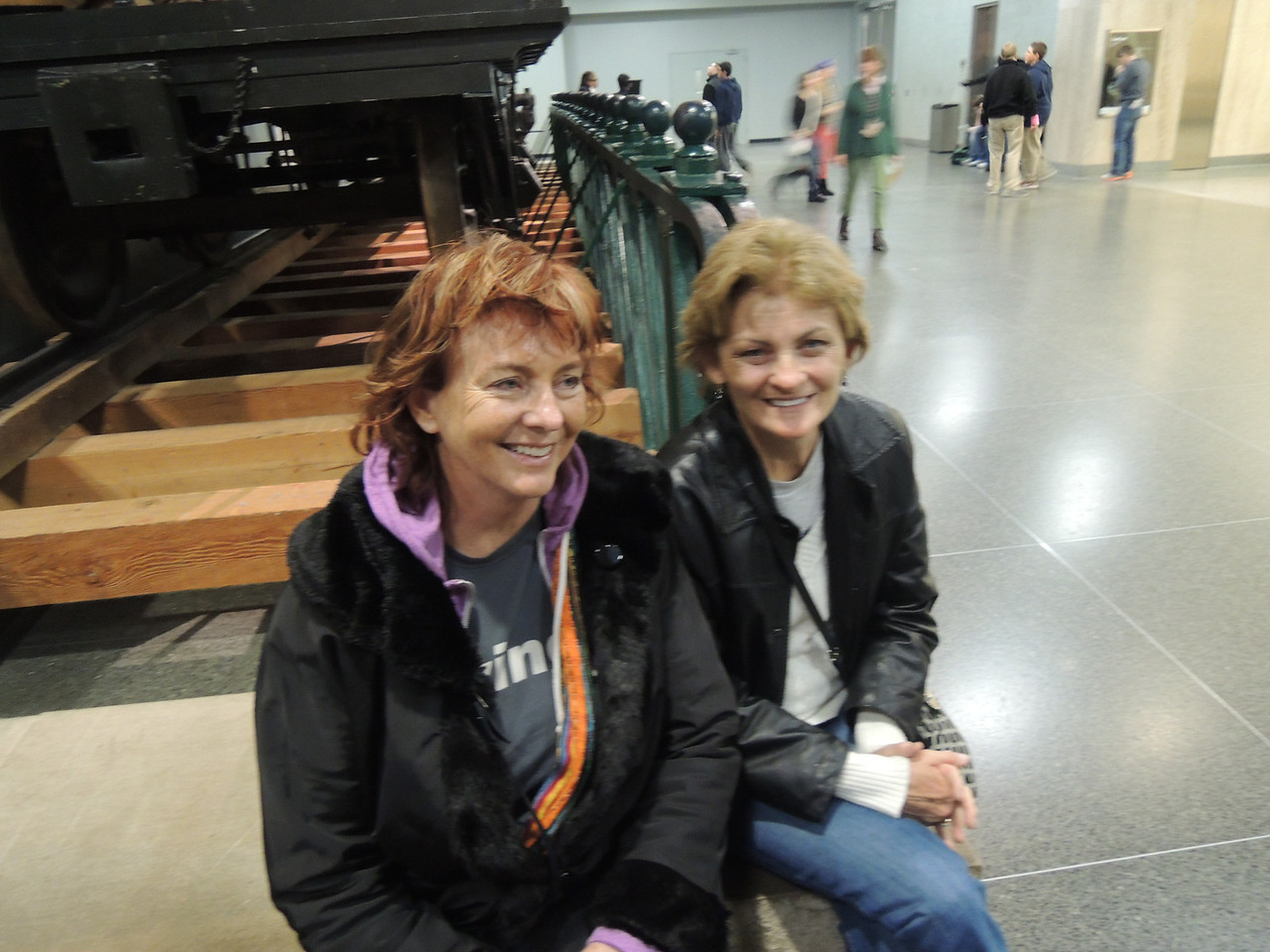 Kathleen and Pat at the Smithsonian.