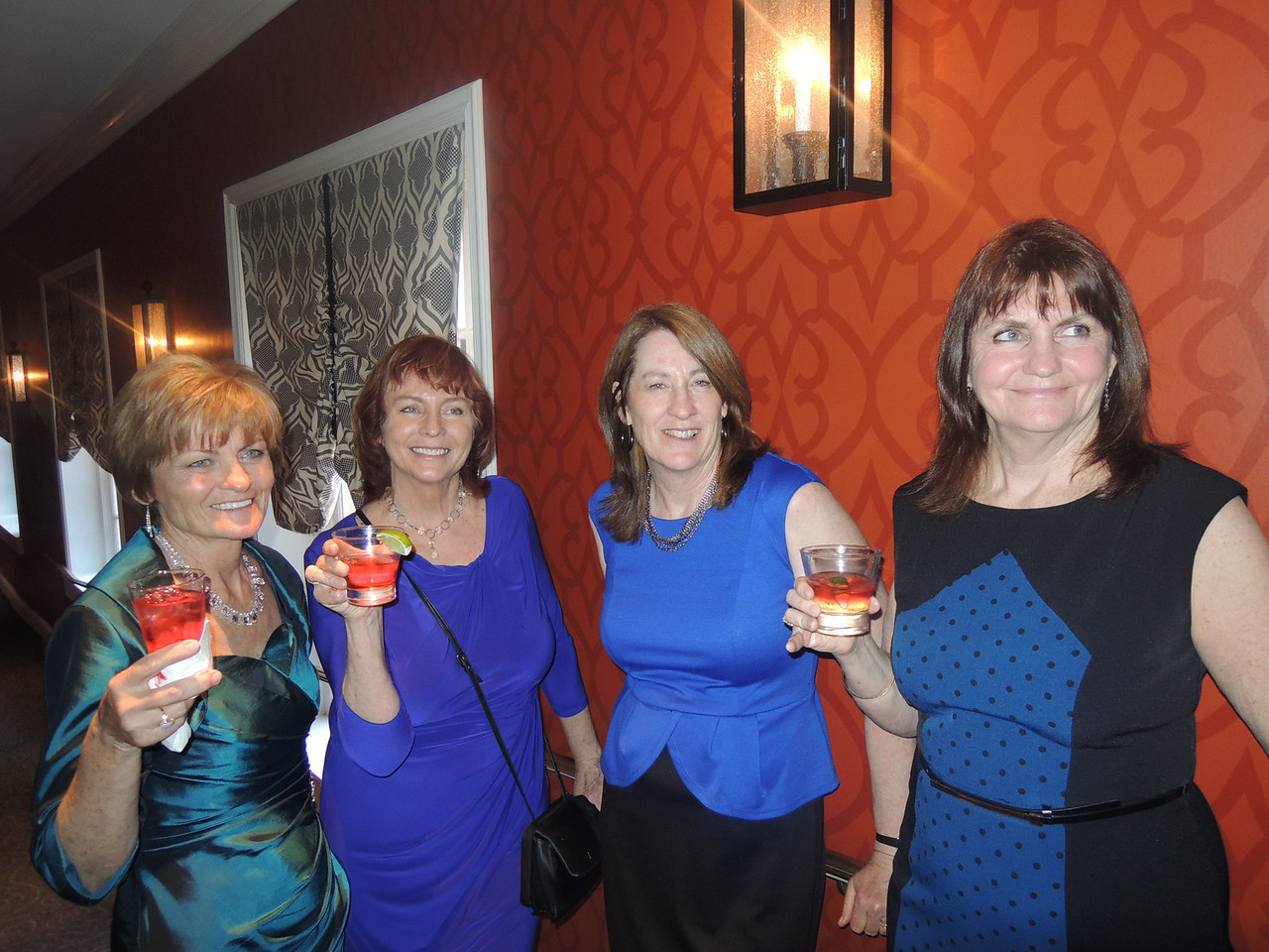 The Warren Girls party again.