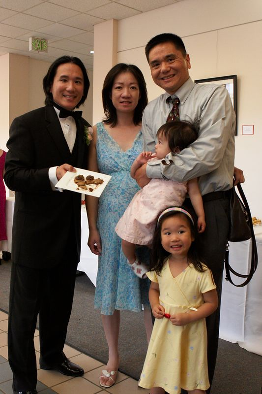 Michael Ching and family