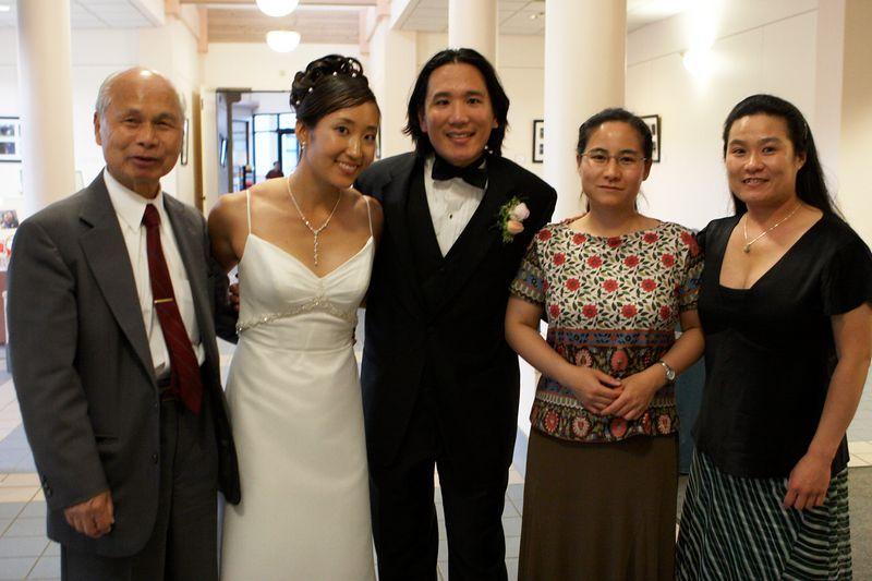 Edmund Wong and family