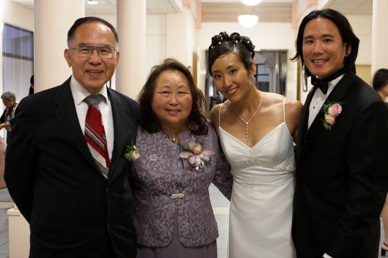 Rae's parents