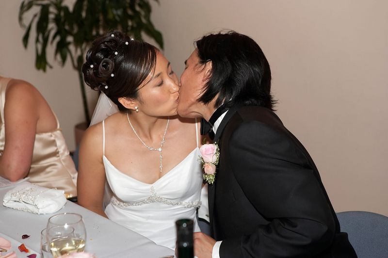 A royal kiss