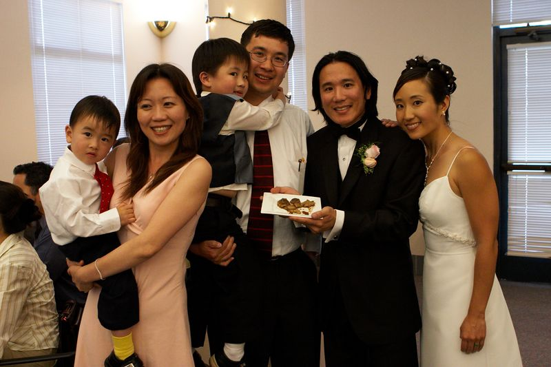Sunny Young and family