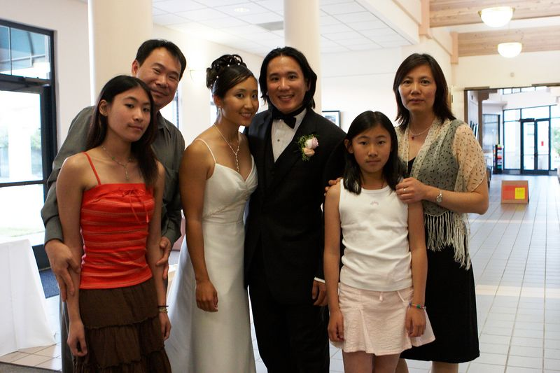 Benny Tow and family
