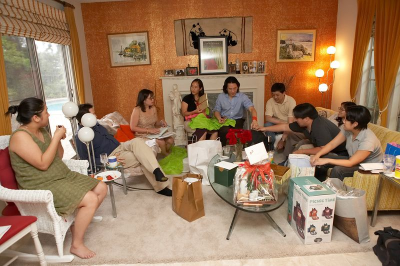 Gift-giving session