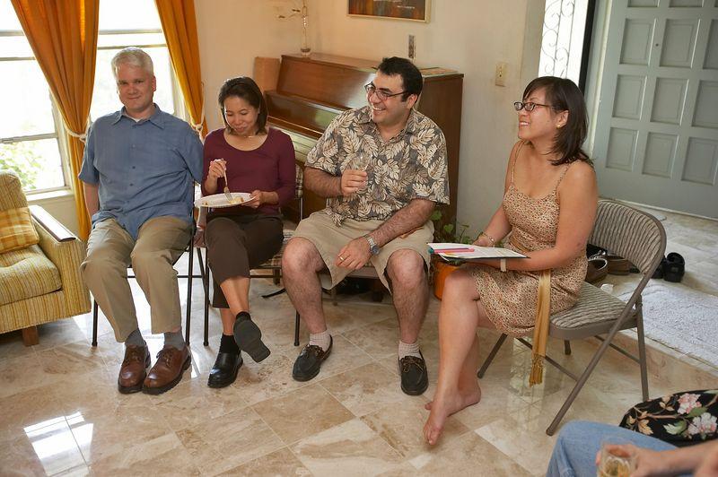 Erik, Edna, Salim, and May