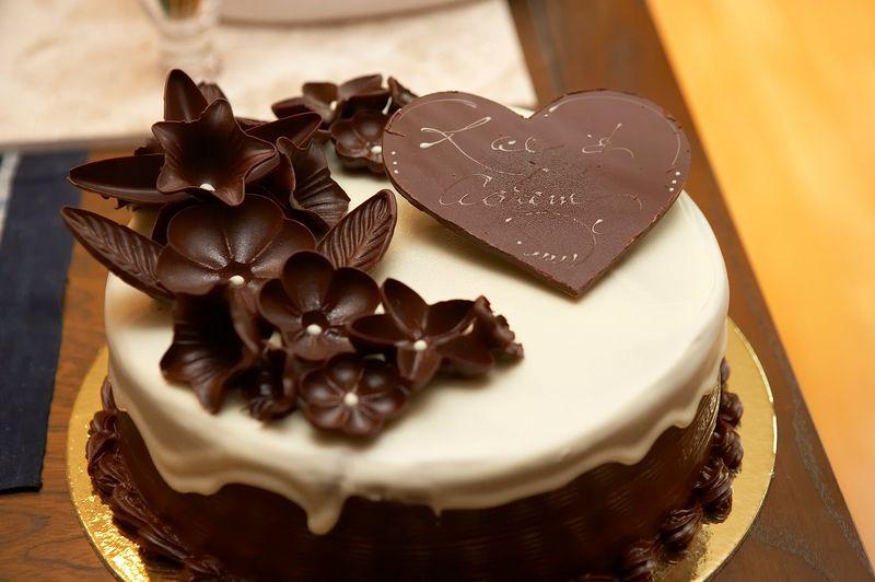 A yummy cake