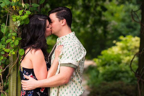 Adrienne & Trey's Engagement Session :: JC Raulston Arboretum :: AO&JO Photography