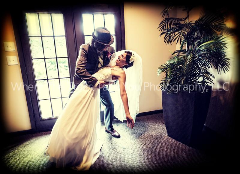 Dipping His Bride