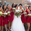 Aimee with her gorgeous bridesmaids.