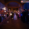 At the end of the evening, the guests sent the happy couple off down a path of sparklers. Congratulations, Aimee and Patrick!