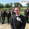 Patrick with his dapper groomsmen.