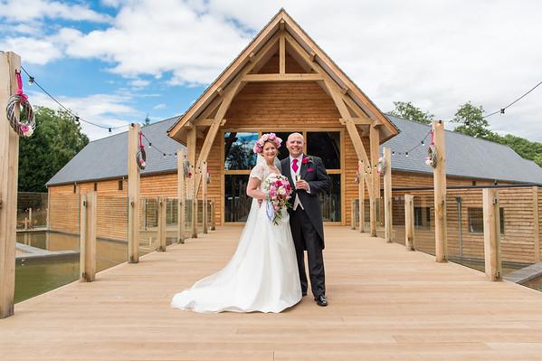Aimee & Stuart at The Mill Barns,  Alveley, Shropshire