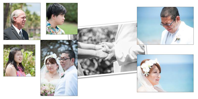 Akimoto Wedding Album Design 1