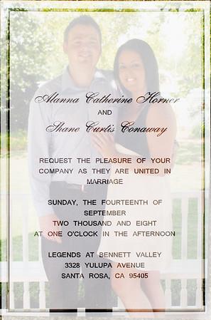 Alanna & Shane's Wedding 9-14-2008