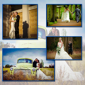Bride and Groom Layout