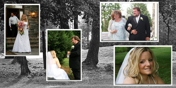 Pages 10 &11 Pano Bride with Parents Before