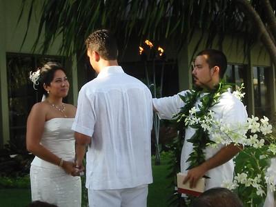 Alegre & Sean's Wedding, Hawaii, June, 2003