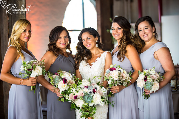 Alessia & Mike: Bridal Party