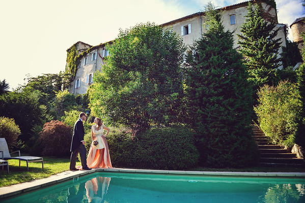 Alex & Angela | Chateau de Camon