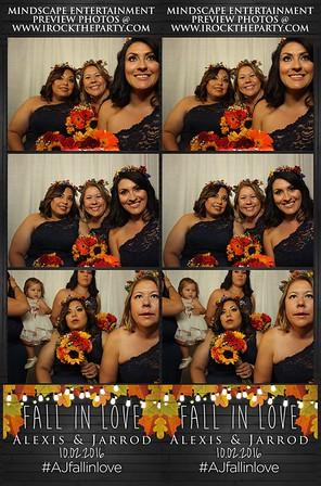 Alexis & Jarrod's Wedding - Photo Booth Pictures