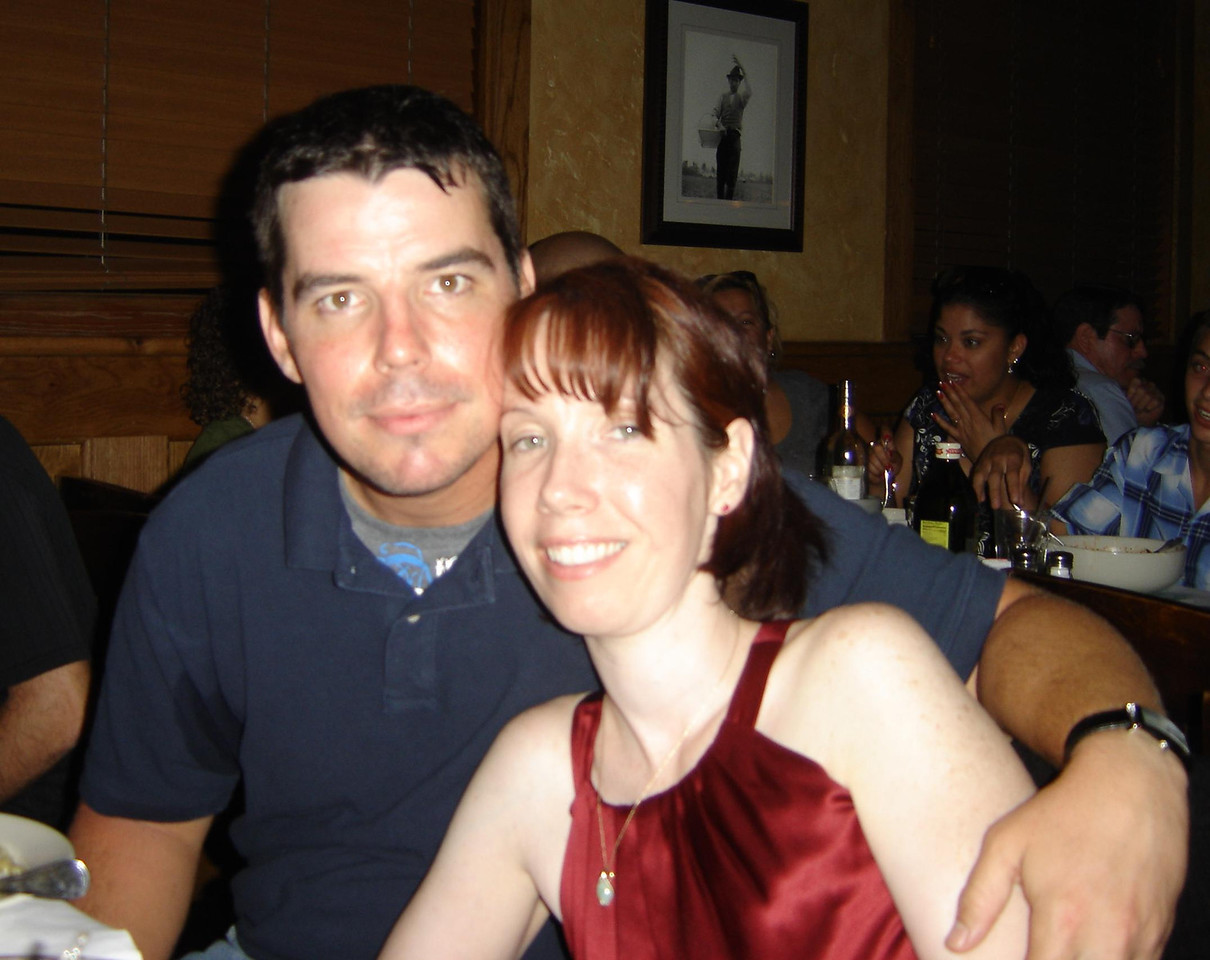 Jon Fagan and his sister Michele.