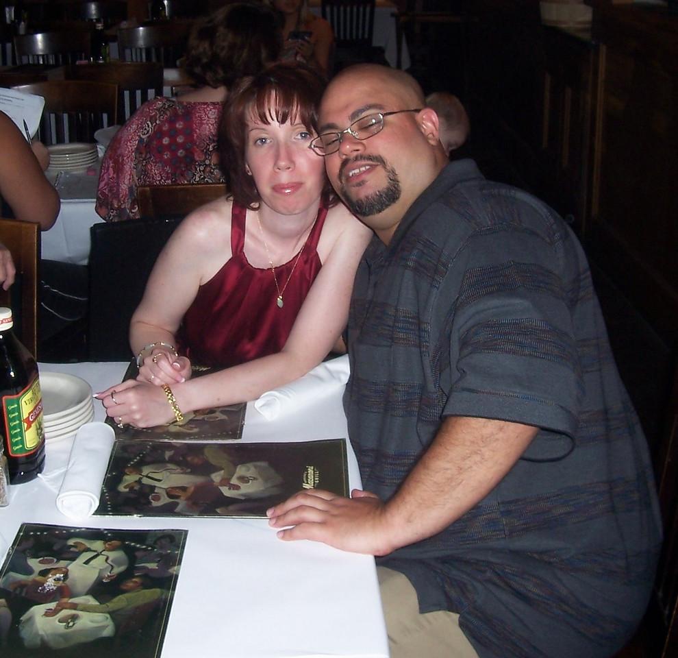 Michele and I.