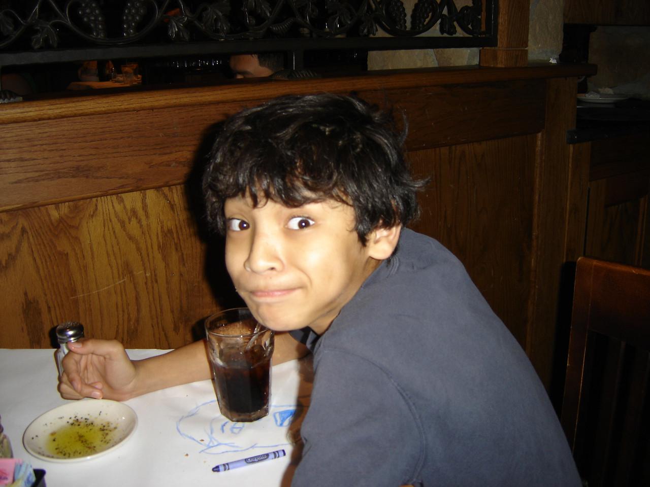 Joe's eldest son Brandon.