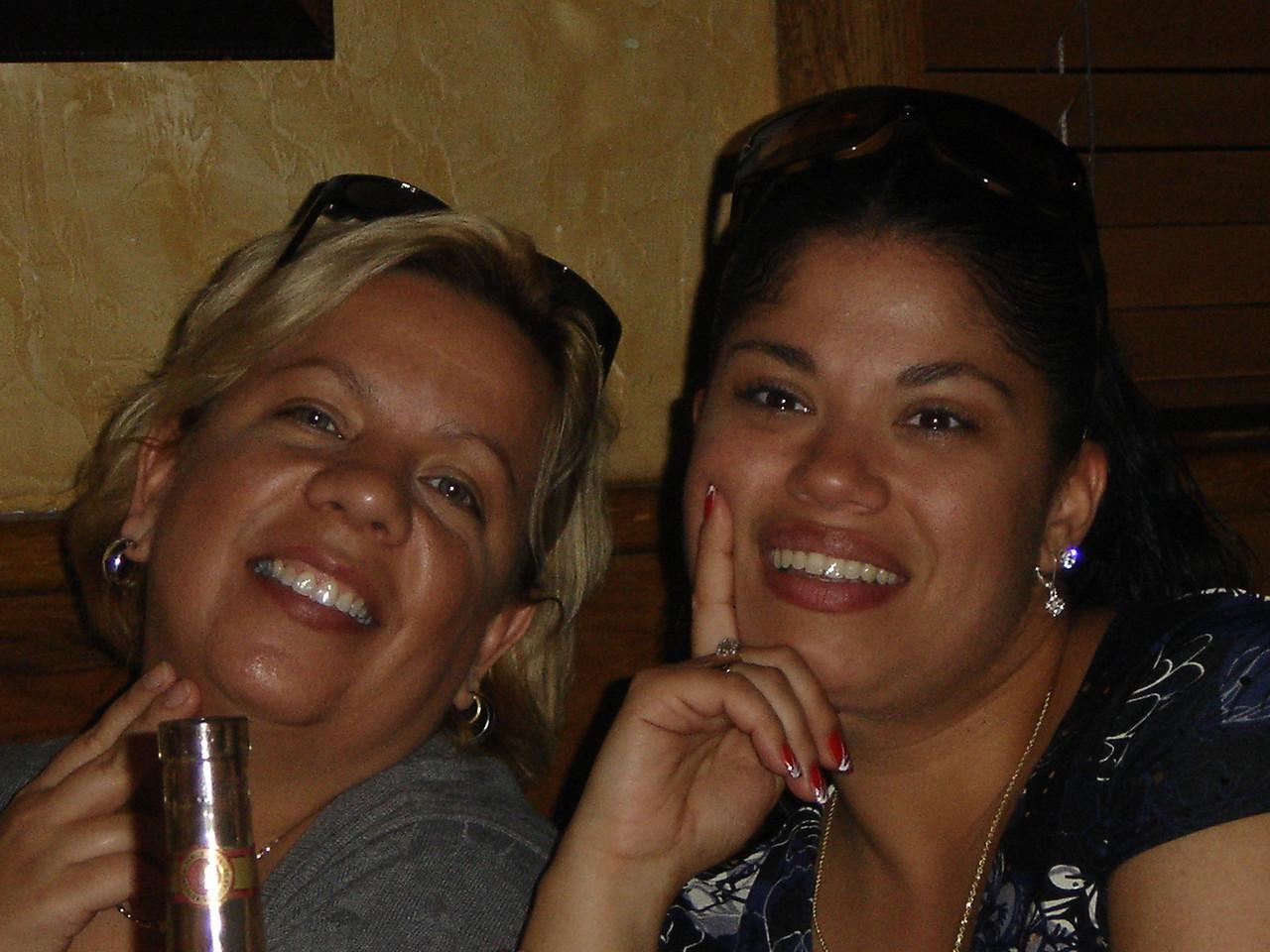 Rachel Montalvo and Tamara Barrios.