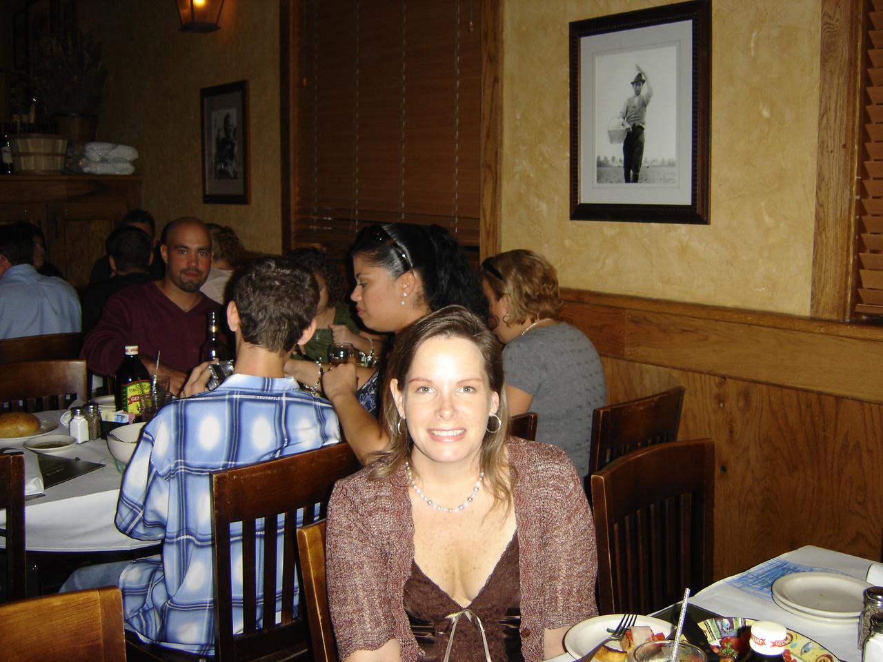 Michele's sister Jen.