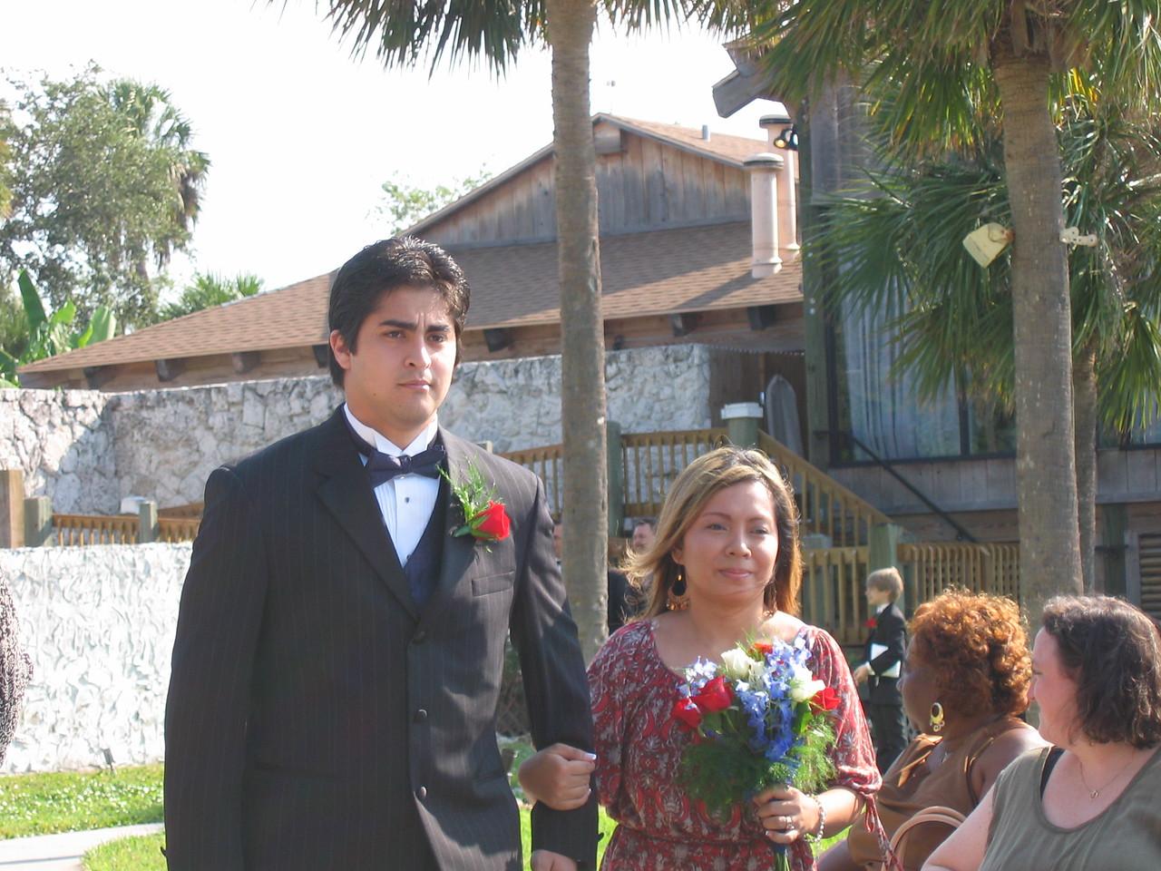Mr and Mrs Joe Maldonado.