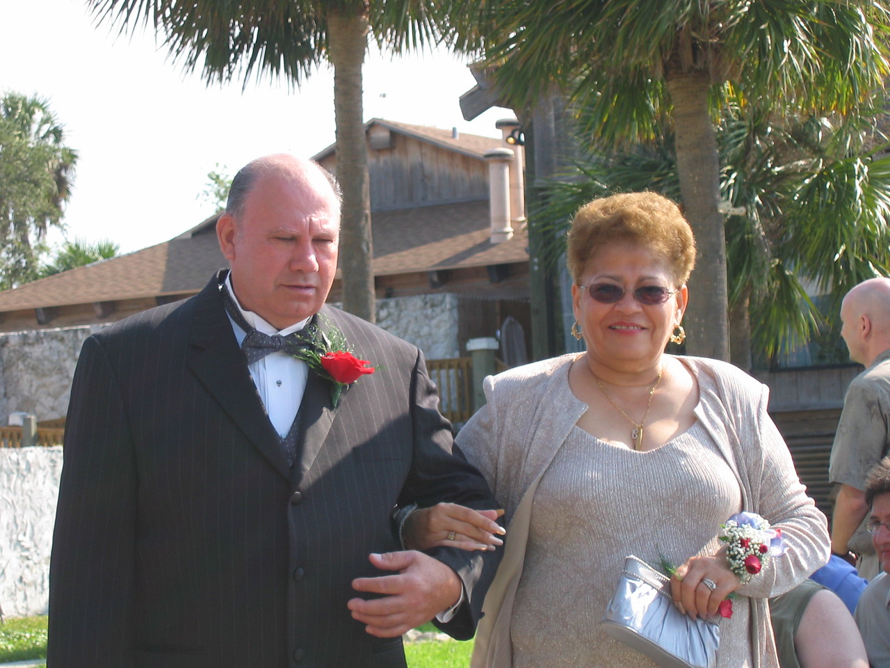 Mr and Mrs Alfredo Barrios